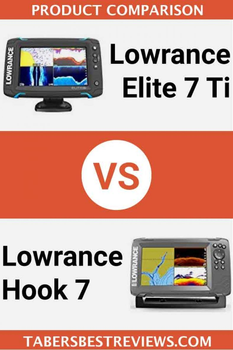 Lowrance Elite 7 Ti Vs Lowrance Hook 7 Head To Head Comparison Fish Finders Fish Finder Elite