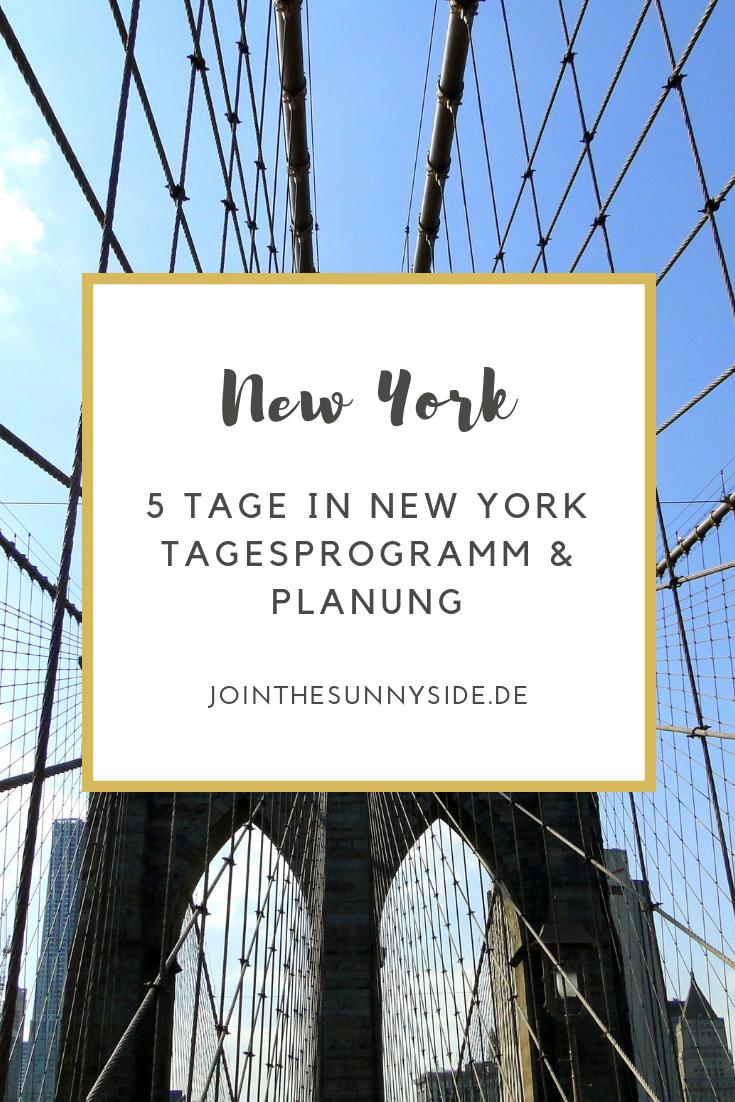 Du verbringst mehrere Tage in New York, weißt aber nicht so genau, welche Highlights du dir wann anschauen sollst? Ich habe dir einen 5-Tage-New-York-Plan zusammengestellt. Inklusive Tagesetappen und interaktiven Karten! :) #usatravel