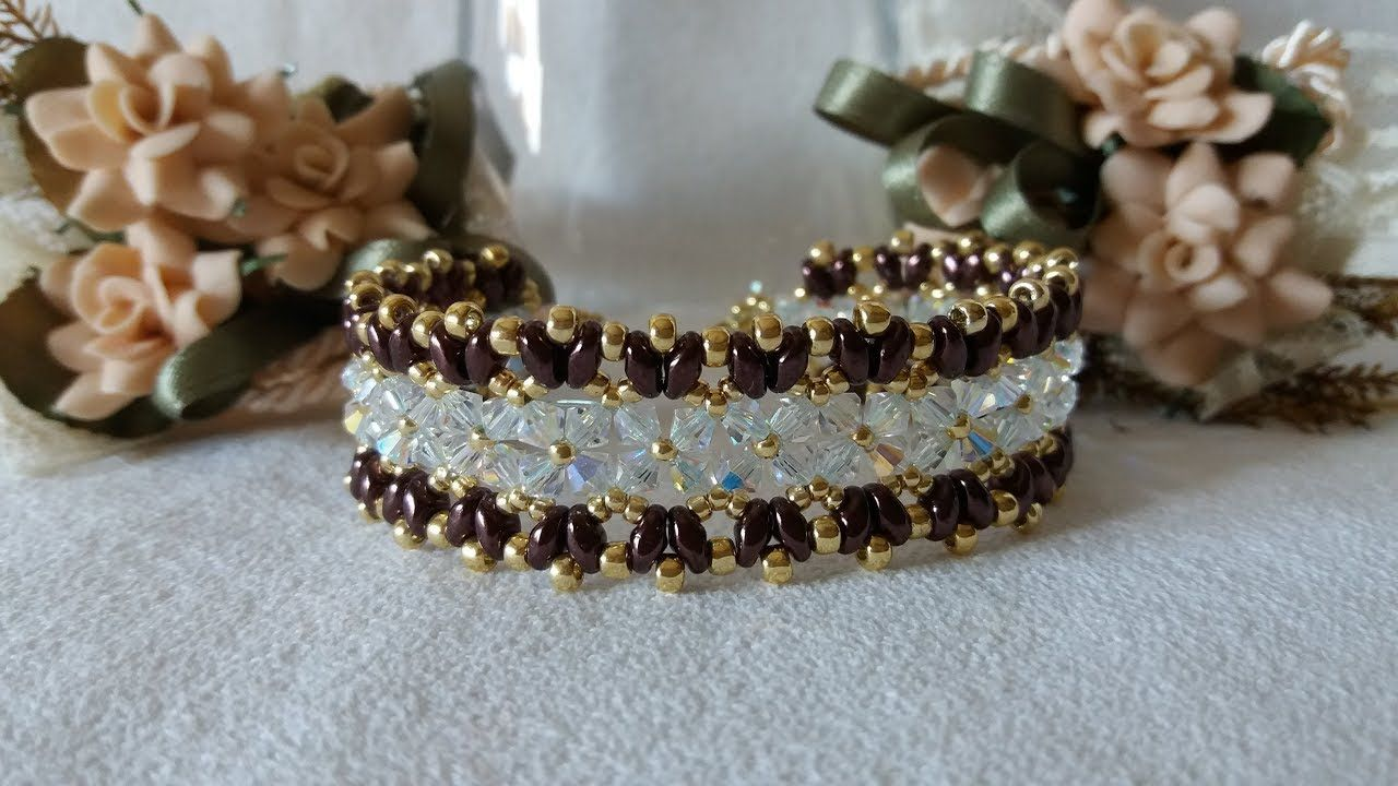 Tutorial bracciale loredana youtube beading jewlery