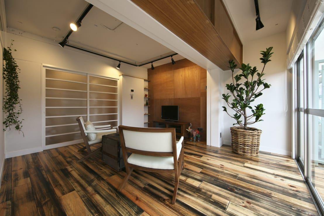 レトロさを生かす ヴィンテージマンションリノベーション 住宅