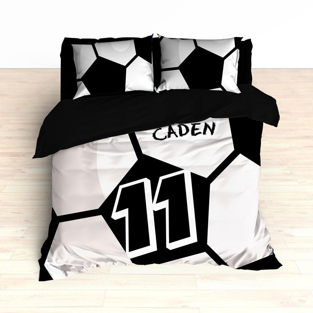 Soccer Ball Bedding