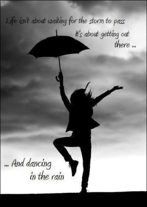 Dancing In The Rain By Ceca Misc Craft Quotes Silhouette
