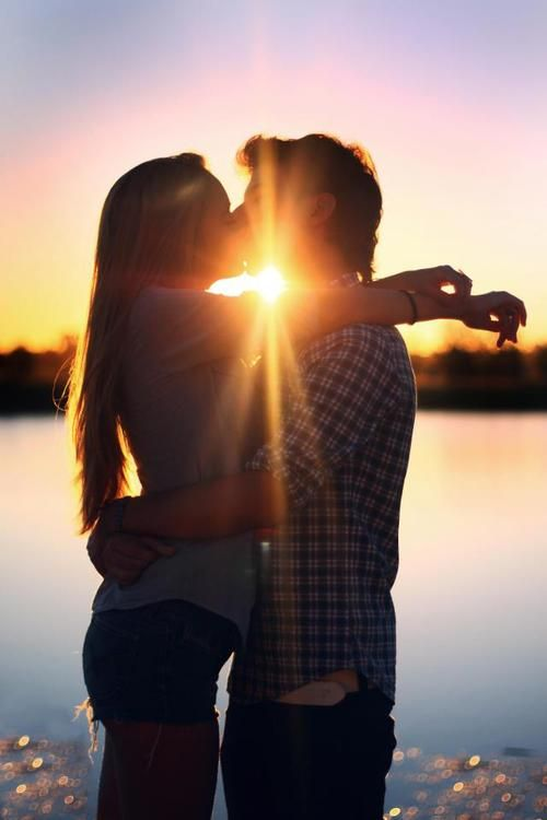 Love picture sex sunsets taking woman