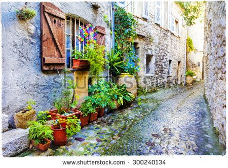 Stock Images similar to ID 199347743 - floral streets of spello ...