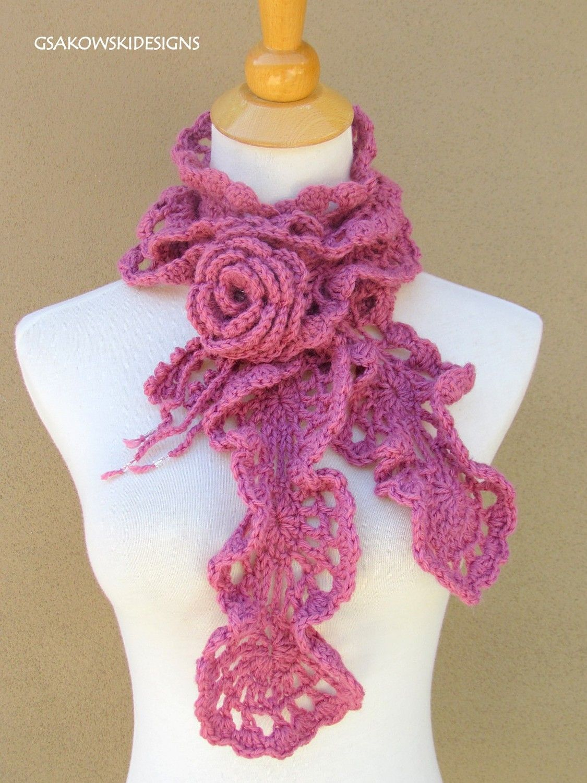 Free+Crochet+Spiral+Scarf+Pattern | Free Crochet Pattern 70603AD ...