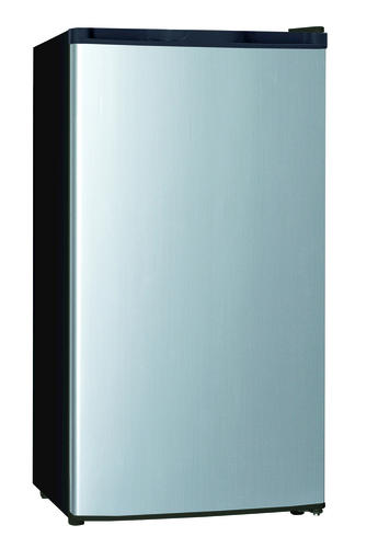 Criterion 4 4 Cu Ft Silver Compact Refrigerator With Freezer