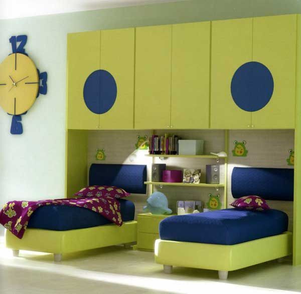 Interesting Kids Bedroom For Two Boys Decorating Ideas