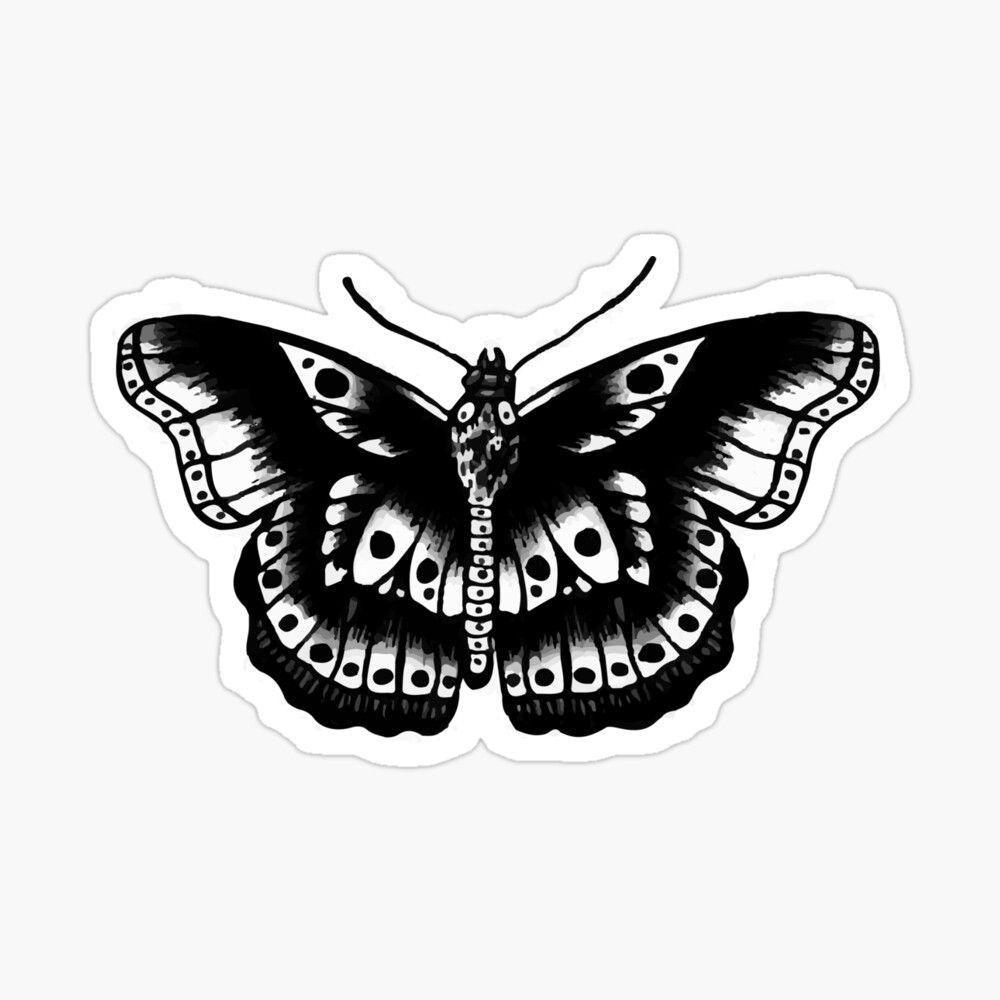 Harry Styles Butterfly Tattoo Sticker By 1dxloverr Harry Styles Tattoos Harry Styles Butterfly Harry Tattoos