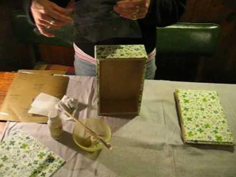 Decoupage sin arrugas con servilletas pegado y corte de - Servilletas de papel decoradas para manualidades ...