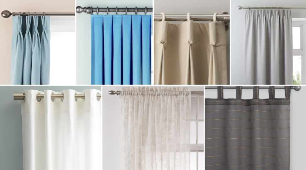 Guide To The Different Types Of Curtains Curtains Up Blog Kwik