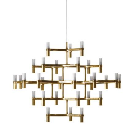 Nemo lighting, Crown Major, mässing, 115x115x82 cm, 2430 € Formverk (finns även i vitt, svart och krom)