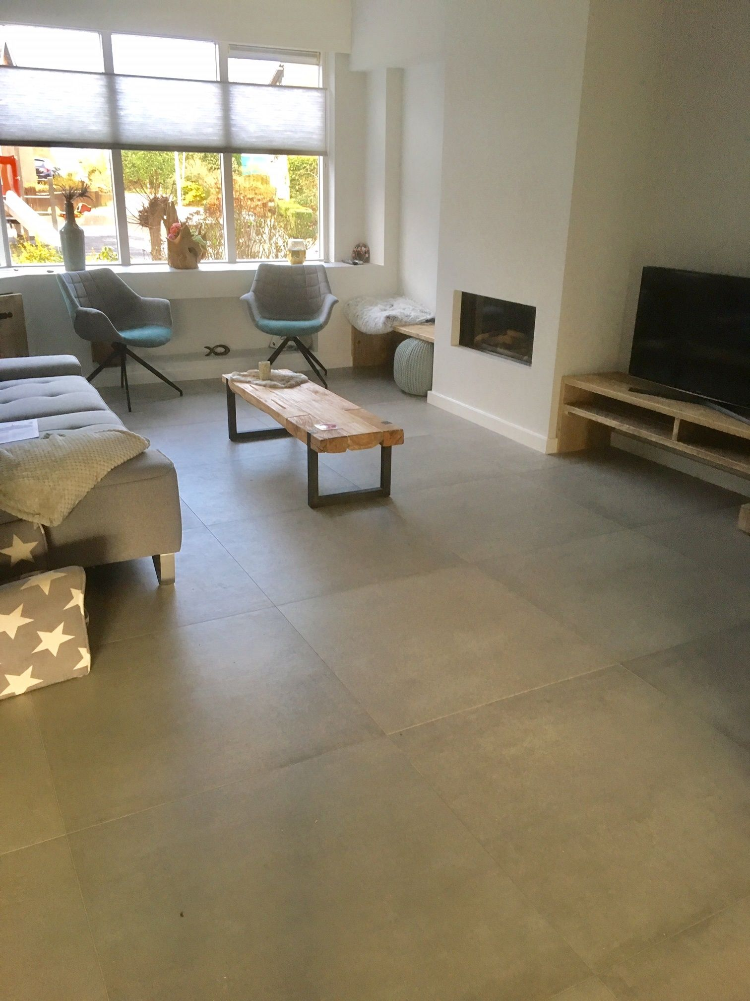 betonlook tegels kronos prima materia cemento 80x80 cm   Betonlook ...