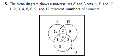 Venn Diagrams Worksheet No 2 With Solutions Venn Diagram Venn Diagram Worksheet Set Notation