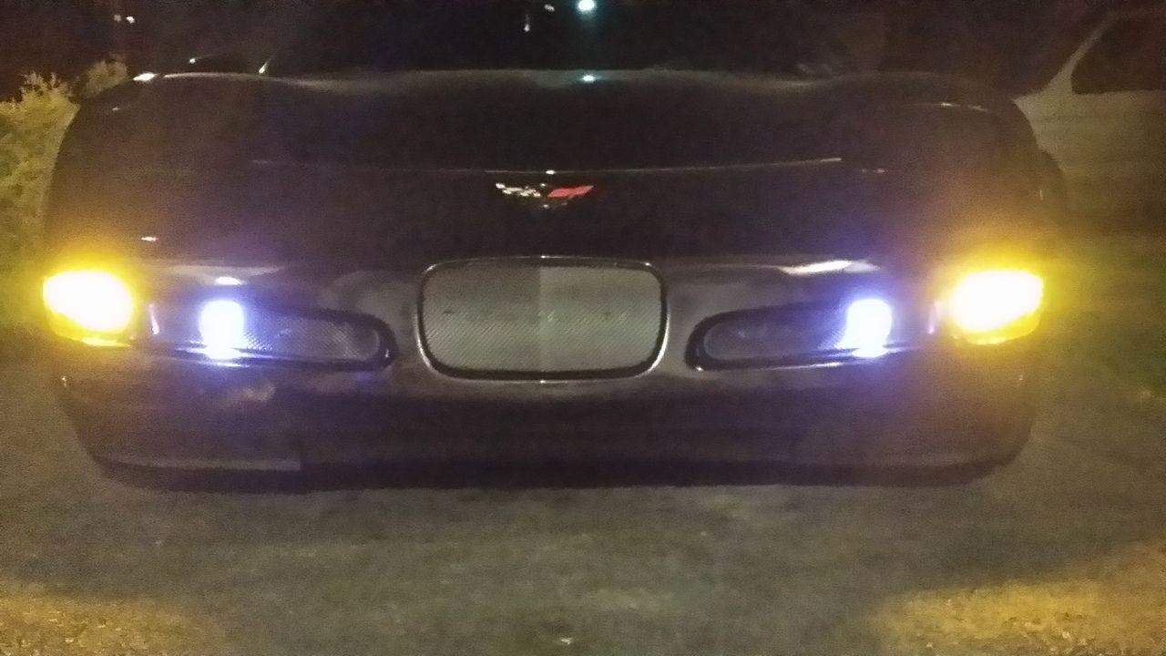 C5 Chevy Corvette 30W/50W 880 LED Bulbs Fog Light 6000K