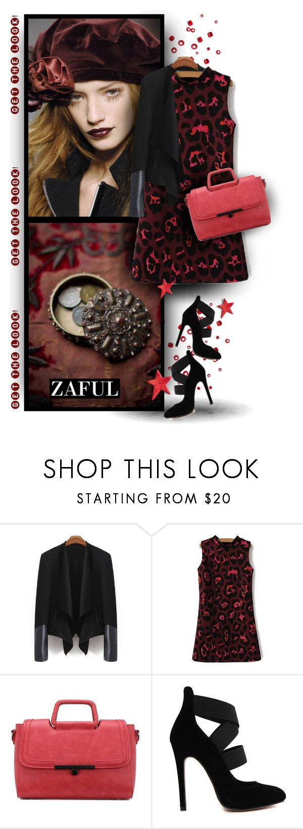 """""""Pure Elegance with Zaful Fashion"""" by christiana40 ❤ liked on Polyvore featuring women's clothing, women, female, woman, misses and juniors"""