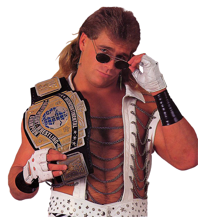 10 27 1992 Terre Haute In Wwf Saturday Night S Main Event Shawn Michaels Was A 3 Time Intercontinental Champion Winning His First From The British Bulldo