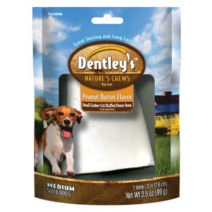 Dentley S Nature S Chew Filled Bone Dog Treat Bones Rawhide