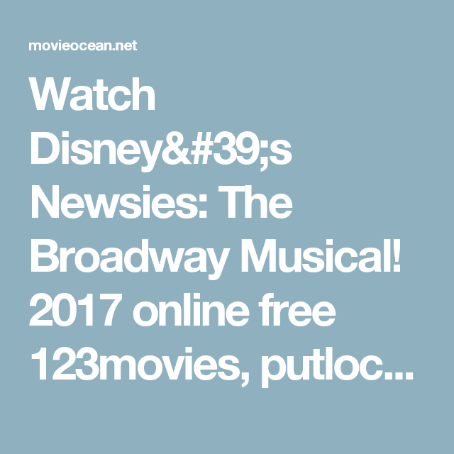 watch musicals online free