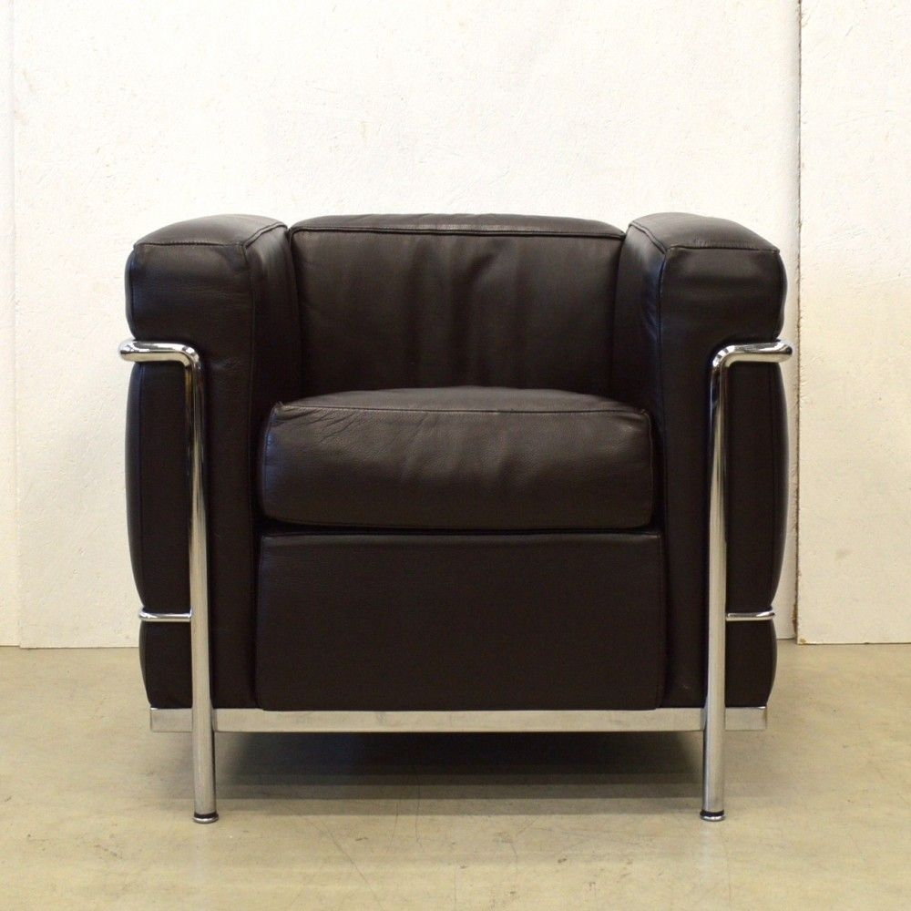 LC2 Lounge Chair From The Eighties By Le Corbusier For Cassina
