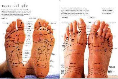 Bolyat los pies de la vena son visibles