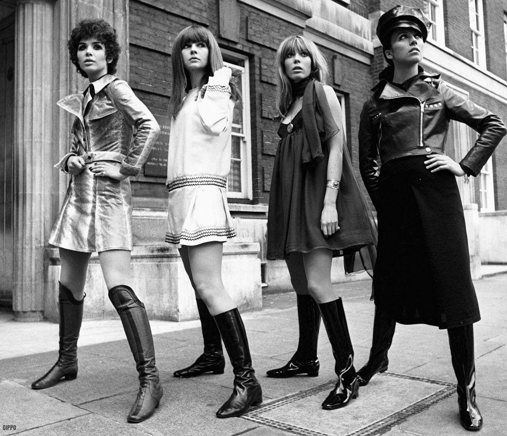 Boots fashion girls, 1967