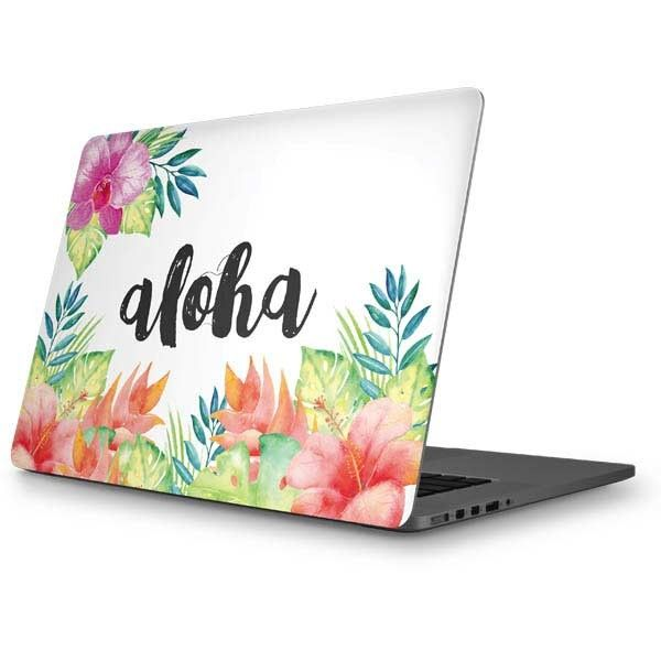 Aloha MacBook Skins. Shop now at www.skinit.com #summer #aloha #macbook #laptop #macbookskin #laptopskin