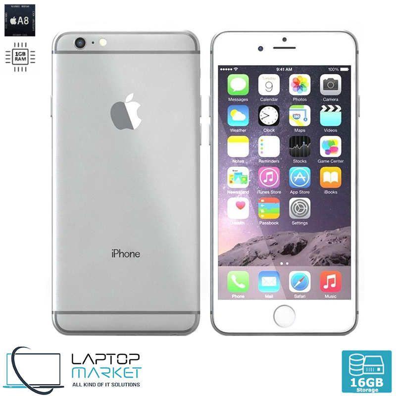 Apple Iphone 6 16gb Silver 4 7inch Unlocked 8mp Cam Preowned Iphone Apple Iphone 6 Apple Iphone