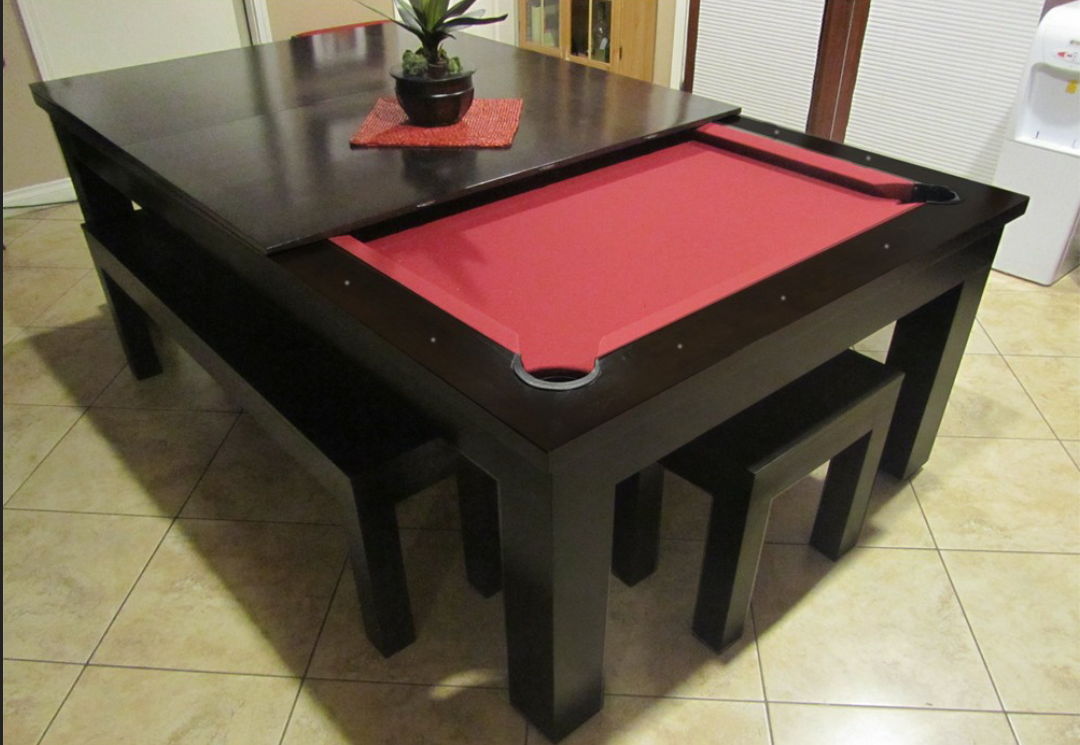 Convertible Pool Table Pool Table Dining Table Dining Room Pool