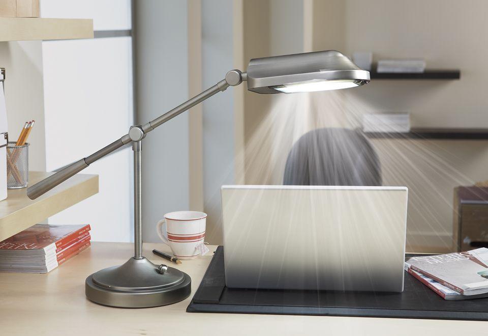 The Natural Spectrum Desk Lamp Best desk lamp, Led desk