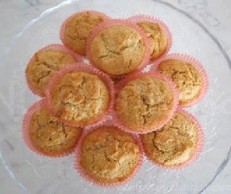 Muffin integrali con cocco e miele