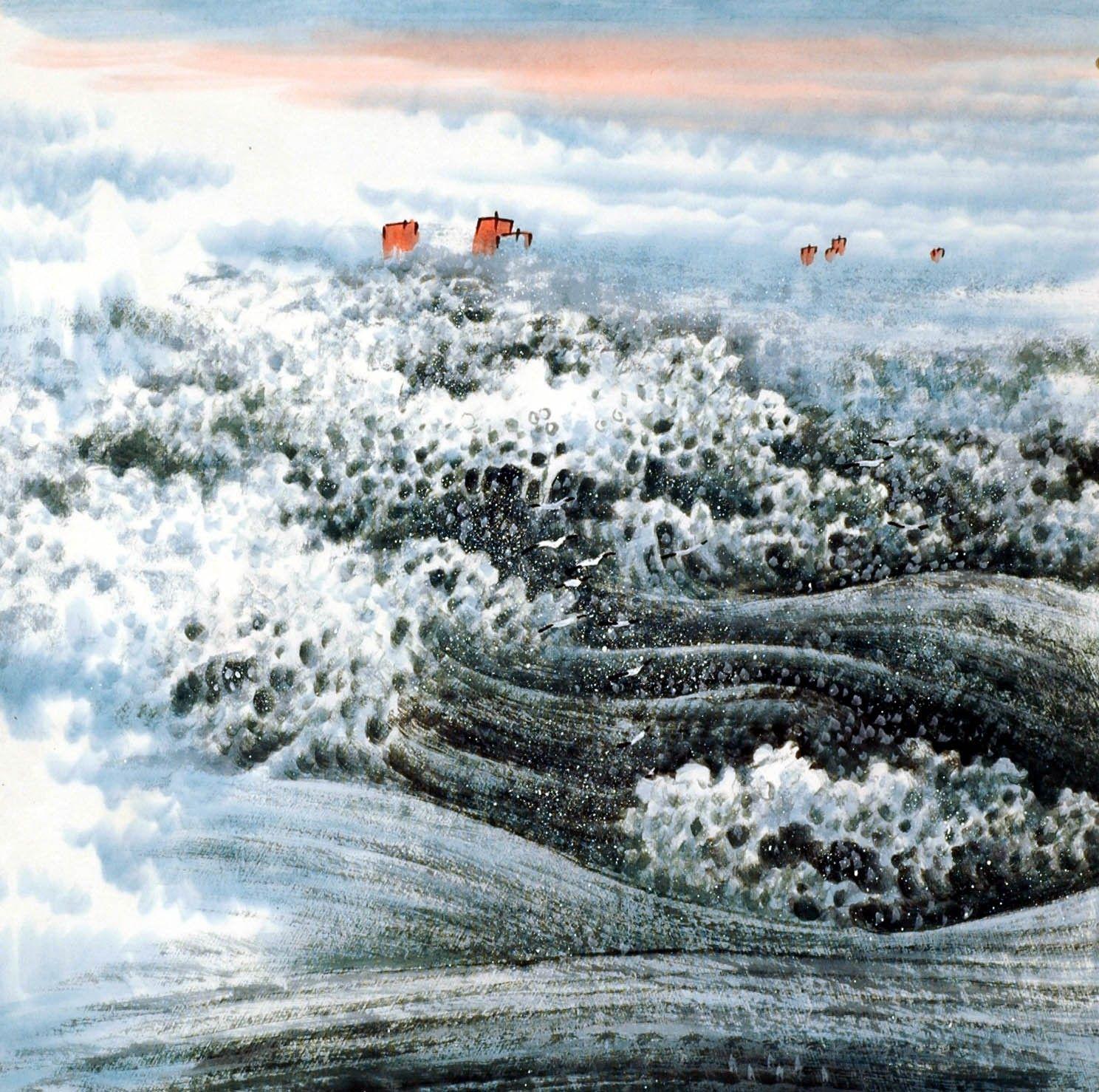 Chinese sea painting cnag008455 asian landscape