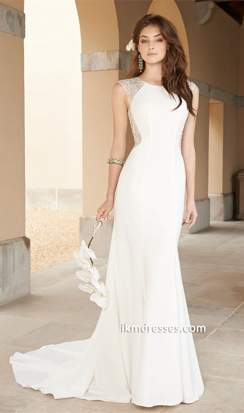 http://www.ikmdresses.com/Crepe-Illlusion-Wedding-Dress-with ...