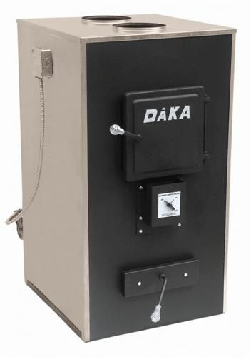 Daka 521fb central add on wood burning furnace 2600 sq for Whole house wood furnace