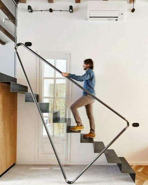 22 Modern Innovative Staircase Ideas: Moderne Treppengeländer, Design