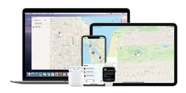macOS Catalina How to use the new Find My app for