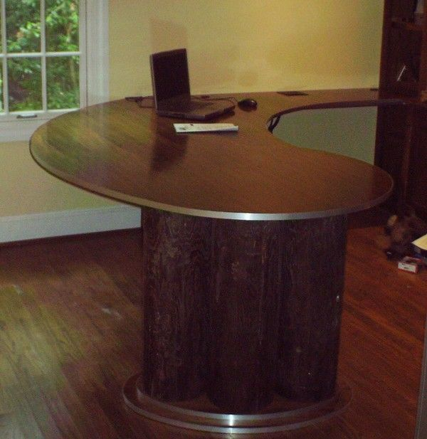 50 Curved Desk To Set The Mood For Your Home Office Curved Desk