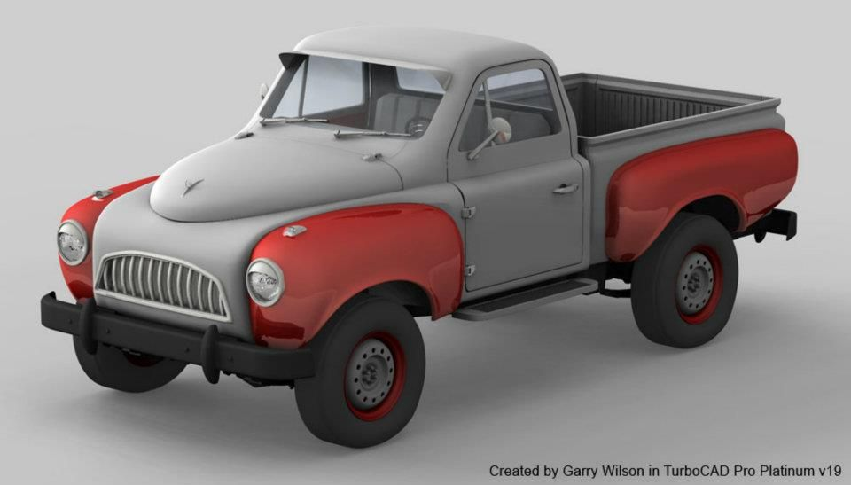 Created by Garry Wilson using TurboCAD Pro Platinum v19 and its smooth surface mesh tools.
