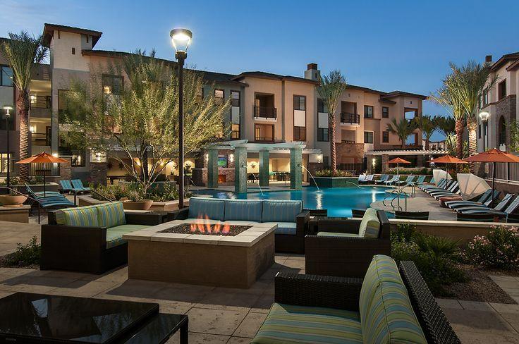 Redstone At Santan Village Gilbert Az Resort Style Pool Architect Family Outdoor