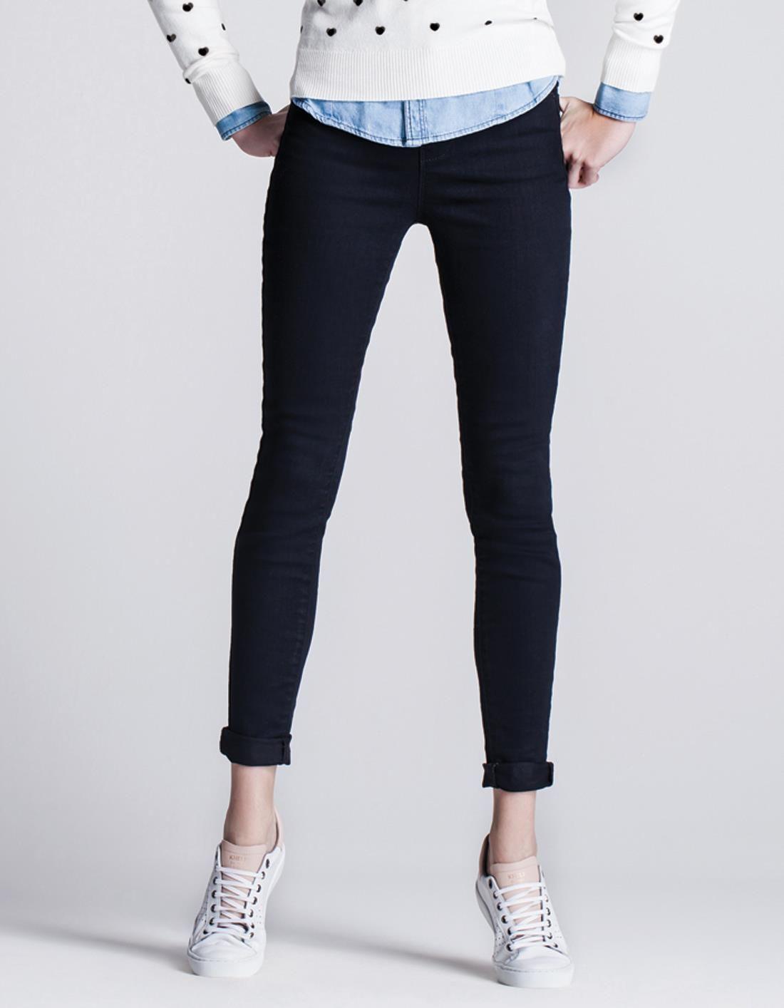 a3e97effe6b Calças Jeans Femininas - Black Cintura Alta