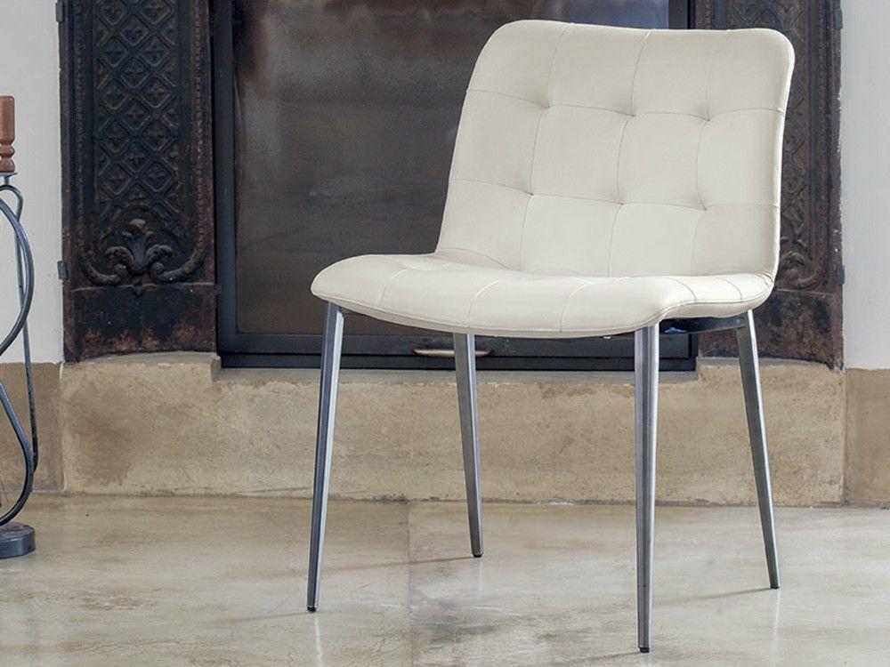 Bontempi Casa Kuga Metal Legs Dining Chair By Ru0026D Barcelona   Chaplins
