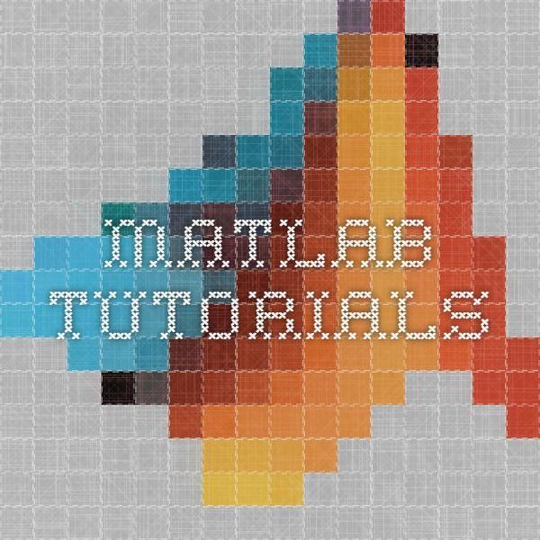 MATLAB tutorials | Data Science | Data science, Data