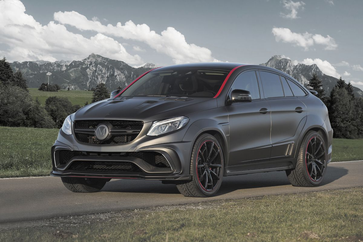 Mansory Goes Wide With The Mercedes Amg Gle 63 Mercedes Benz