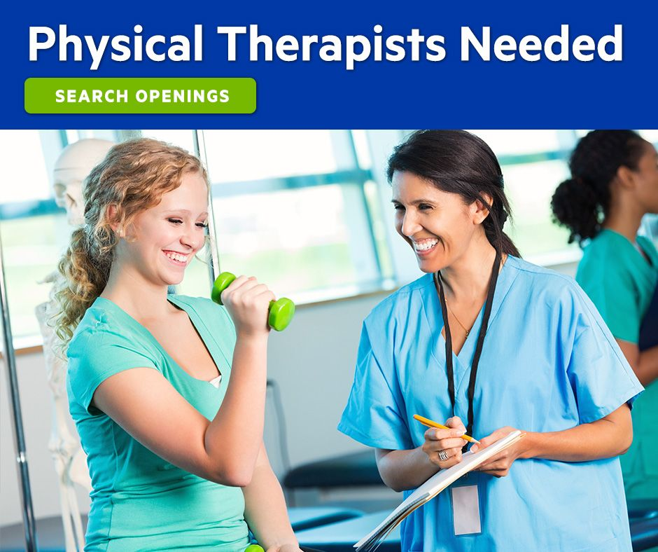Physical Therapy Jobs Healthcare professionals, Nursing