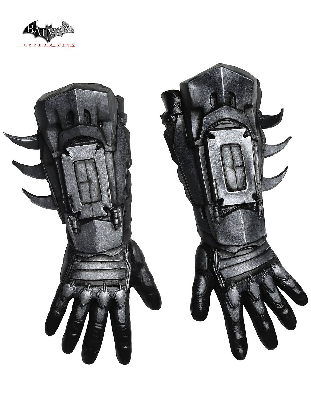 Mens leather kid gloves - Men S Arkham Batman Deluxe Gloves Costume Wholesale Batman Costumes For Kids And Adults