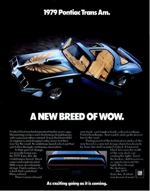 Pontiac Trans Am 1979. Mine was gold, I ordered it new with no bird on the hood.