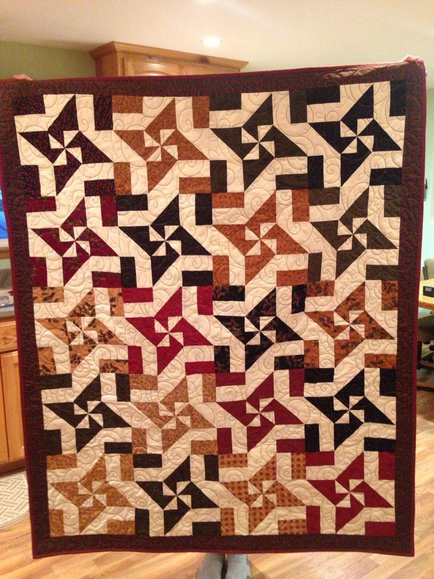 Disappearing Pinwheel quilt - Missouri Star Quilt Company tutorial ... : missouri quilt company patterns - Adamdwight.com