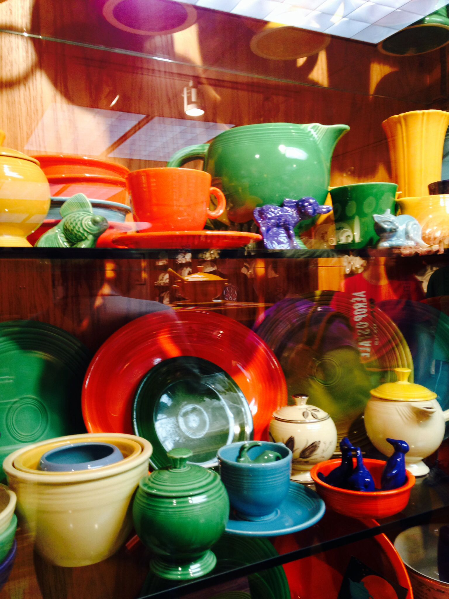 Variety of Fiestaware Dishes Homer Laughlin Mix and Match