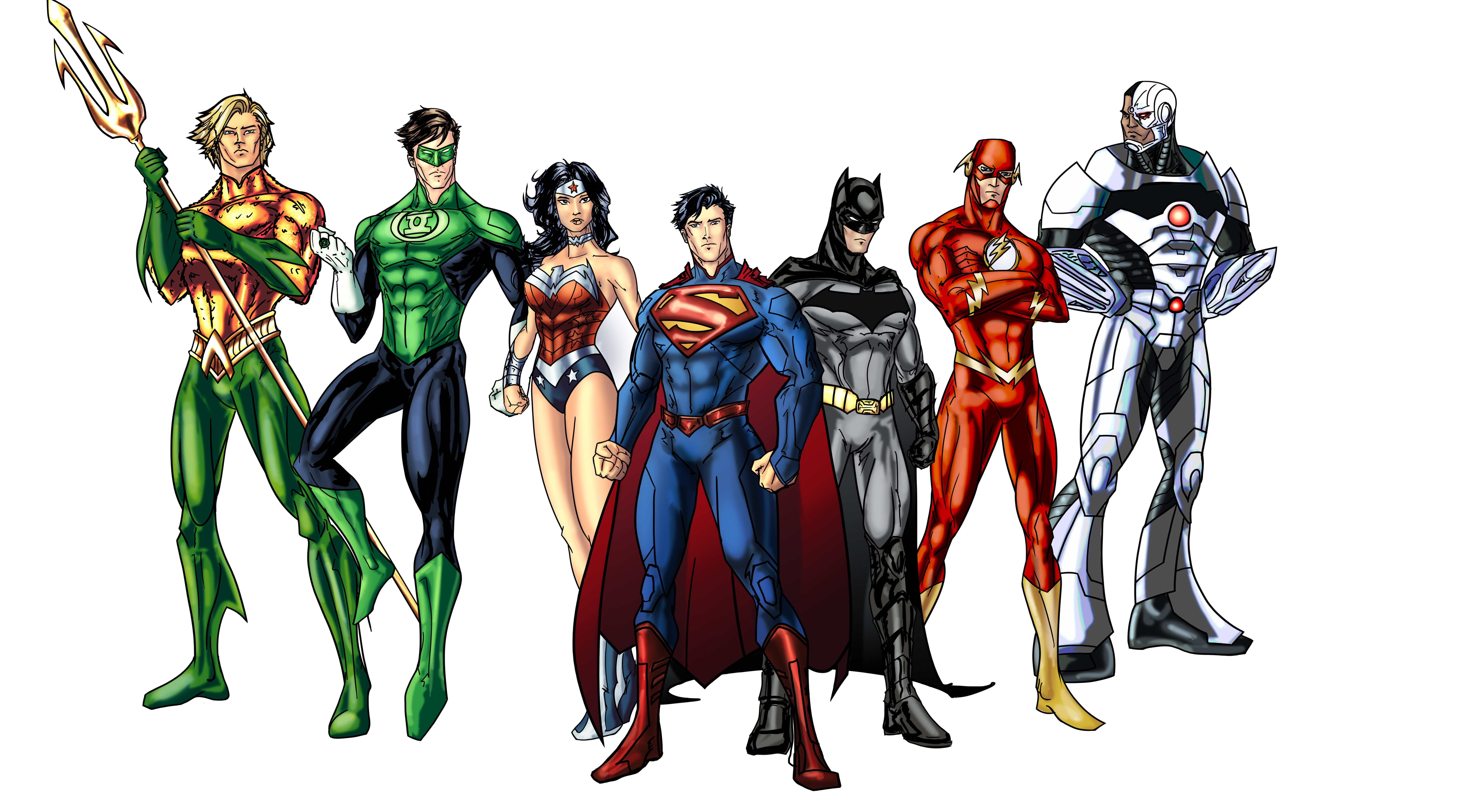 New 52 Justice League More Wip By Randomality85deviantart