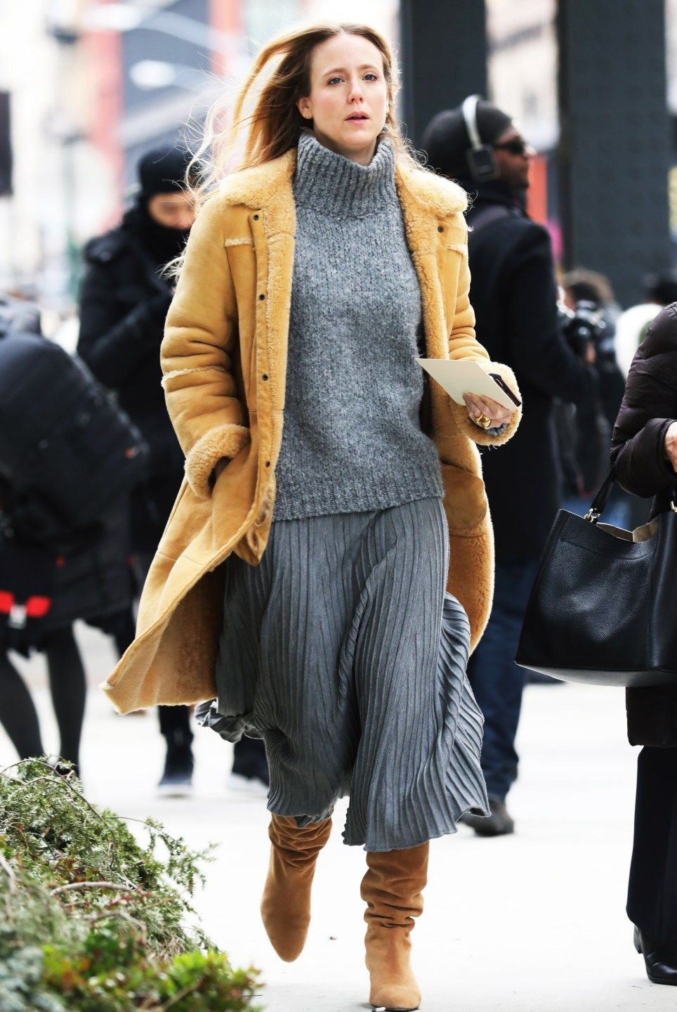 New York Fashion Week Street Style Day 6 Fall 2017 by Myoungsoo Lee, See the best street style captured at NYFW:Women's Fall 2017 at The Impression.com