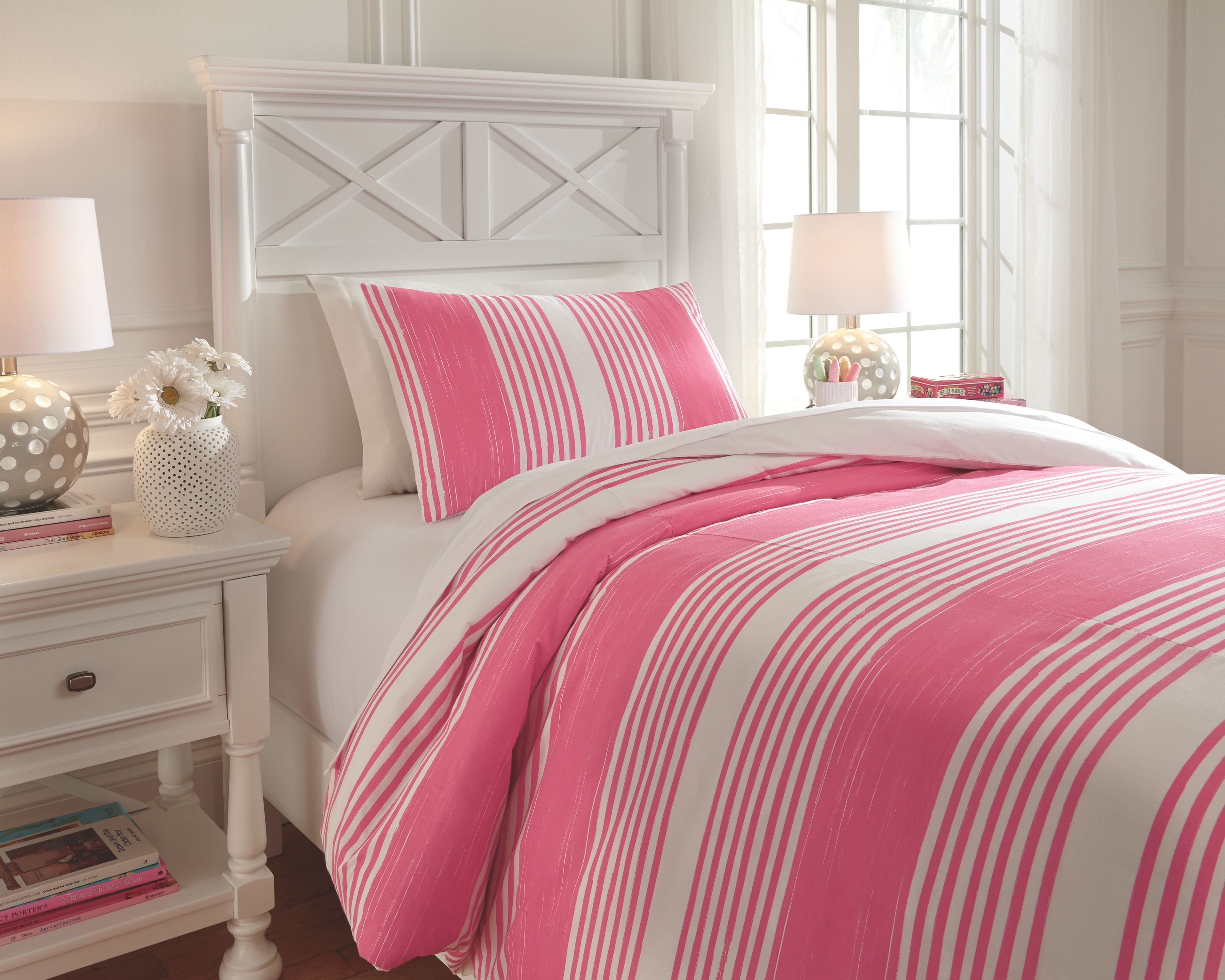 Taries 2 Piece Twin Duvet Cover Set Pink In 2020 Comforter Sets